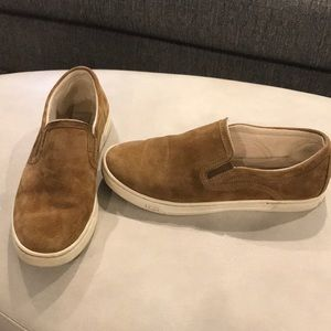 Ugg Brown Suede Sneaker Size 7.5